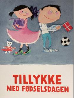 2-årsbogen postkort