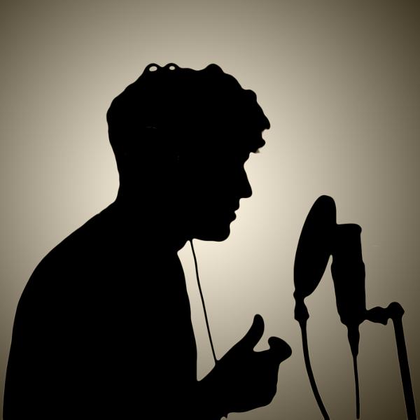Logo. Podcastserien 'Giv lyd'