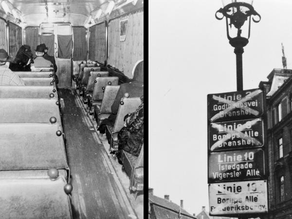Mørklagt sporvogn / Overstregede skilte