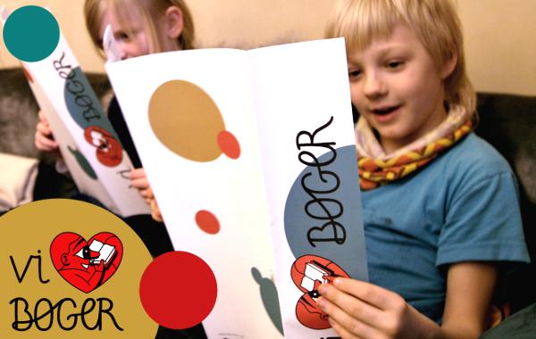 Vi elsker bøger - børn læser program