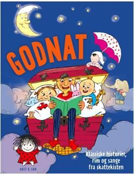 Forsiden af bogen Godnat - gaven til alle københavnere på 2 år