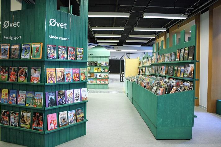 Billede af Bogborgen på børneetagen