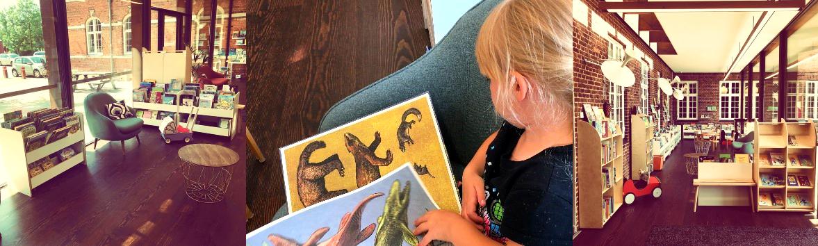 sydhavnens bibliotek, småbørn, børnebibliotek, orangeri