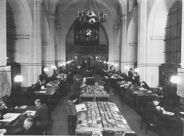 Hovedbiblioteket i Nikolaj Kirke