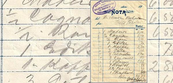 Håndskrevet regning