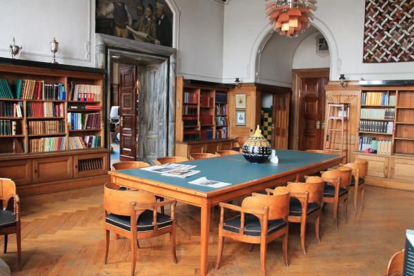 Læsesalen på Rådhusbiblioteket
