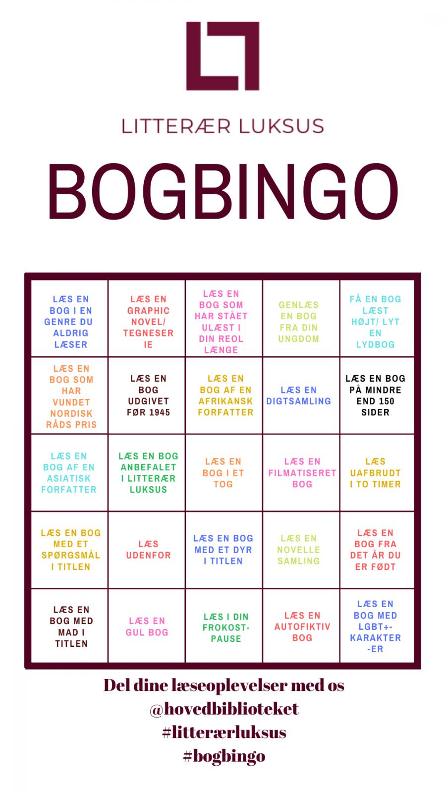 Bogbingo-plade