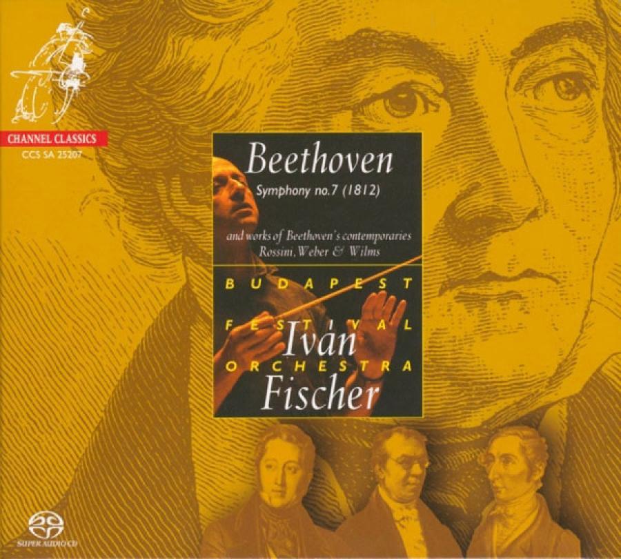 cover til Beethovens 7. symfoni dirigeret af Ivan Fischer
