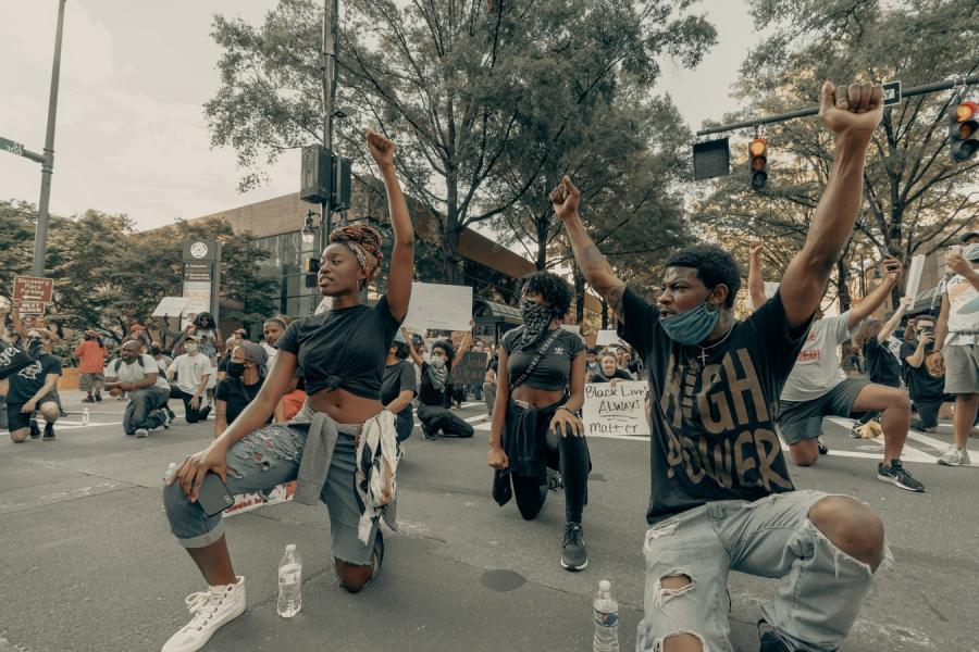 Black lives matter - demonstration