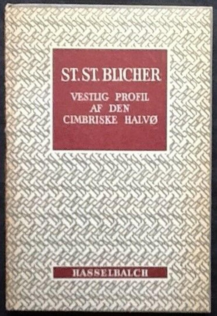Forside til Steen Steensen Blichers Vestlig profil af den cimbriske halvø