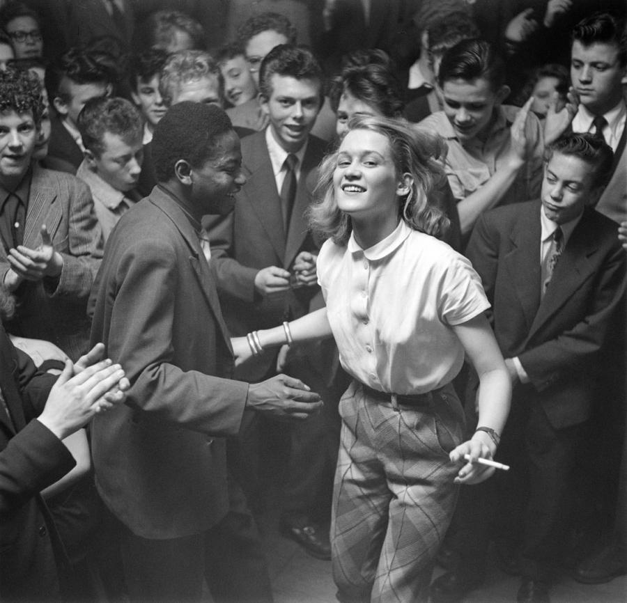 Dansende mennesker