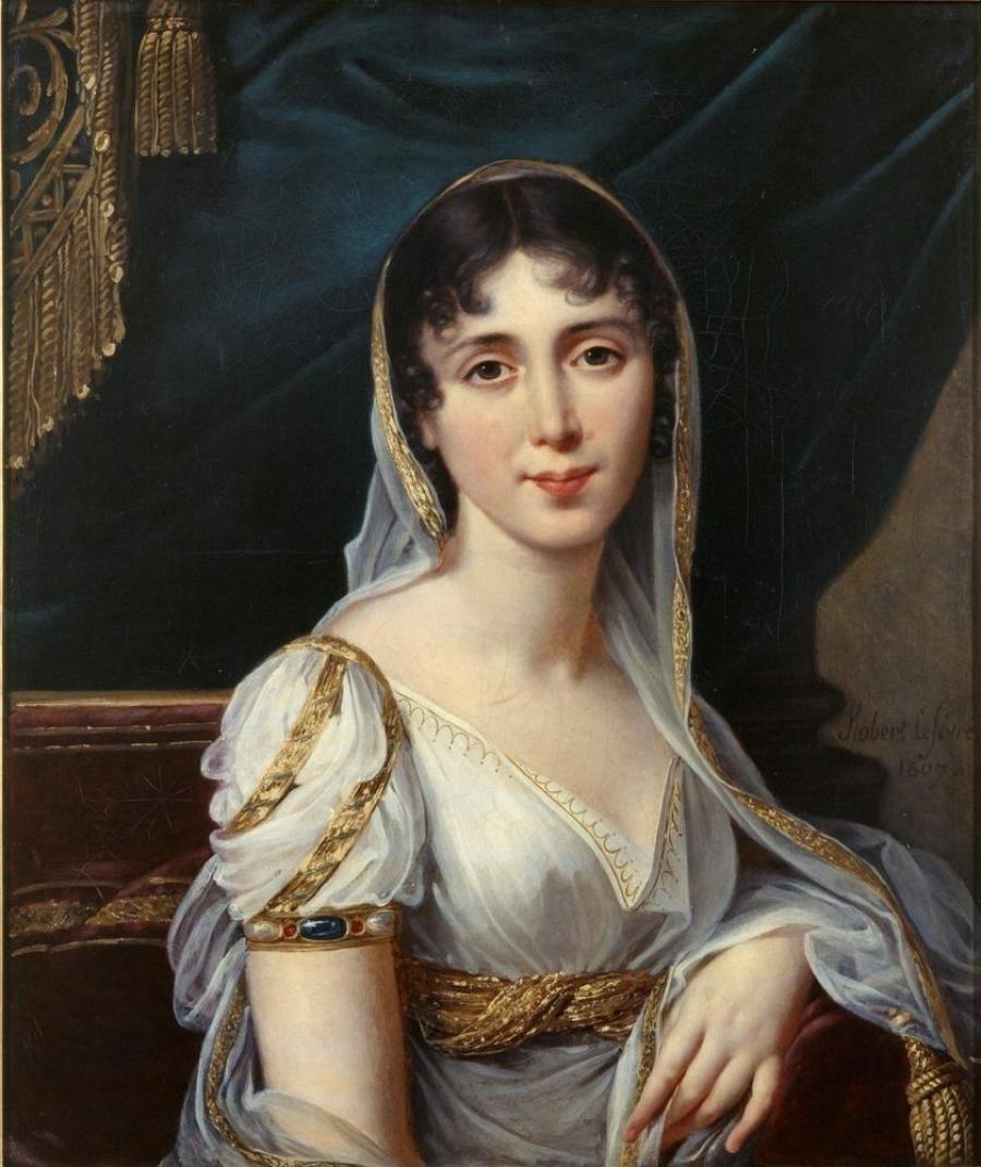 Robert Lefevre - Désirée Clary, 1807