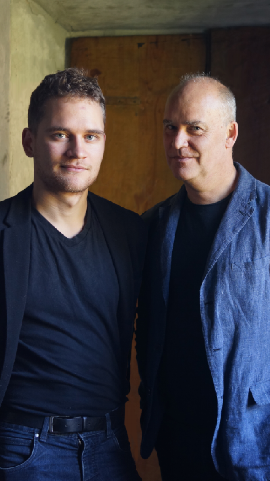 Foto af Morten Søndergaard og Sophus Helle