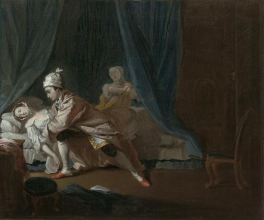 Joseph Higmore - 'Pamela Fainting', 1743