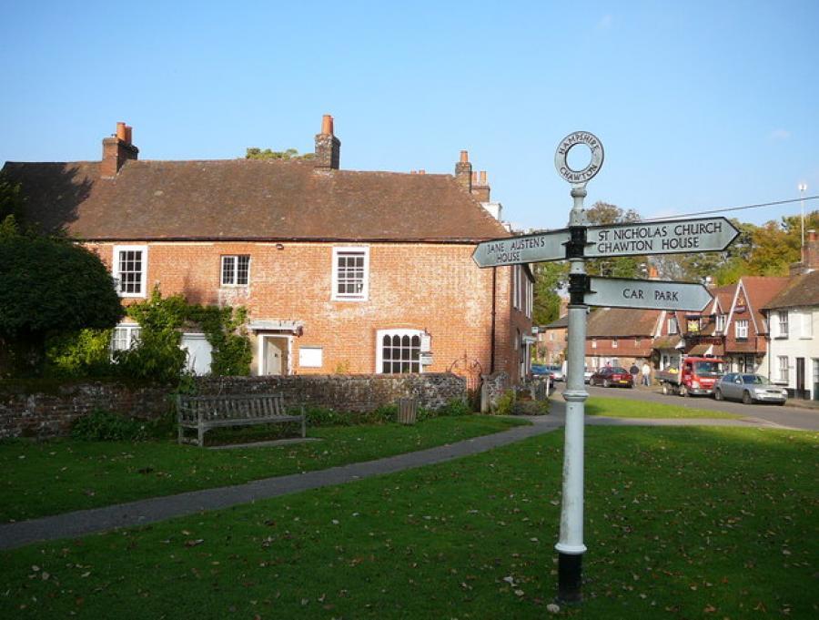 Jane Austens hus