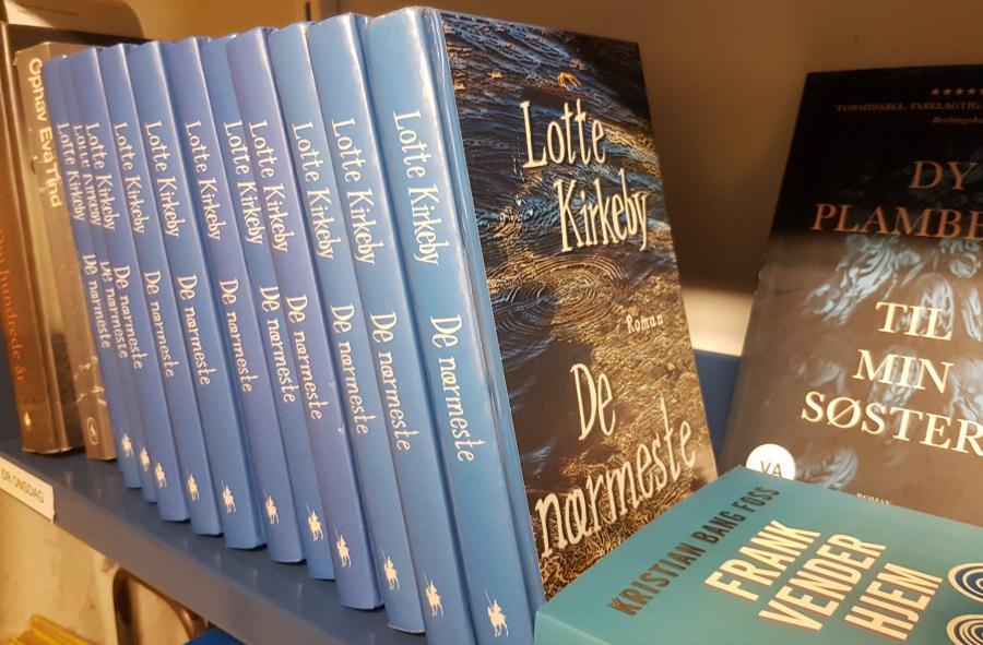 """Billede af Lotte Kirkebys roman """"De nærmeste"""""""