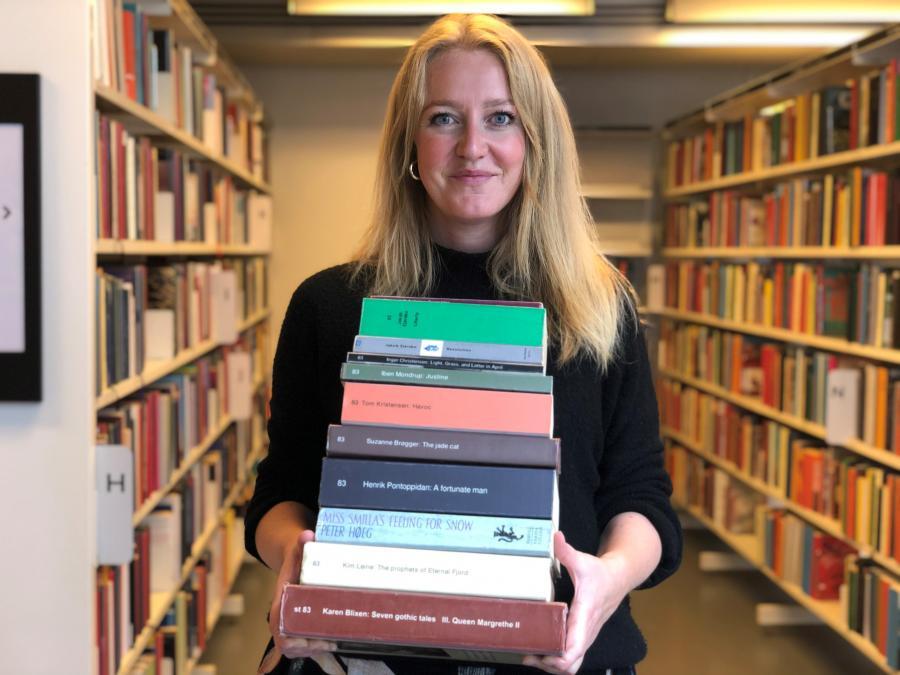 Danish literature in english