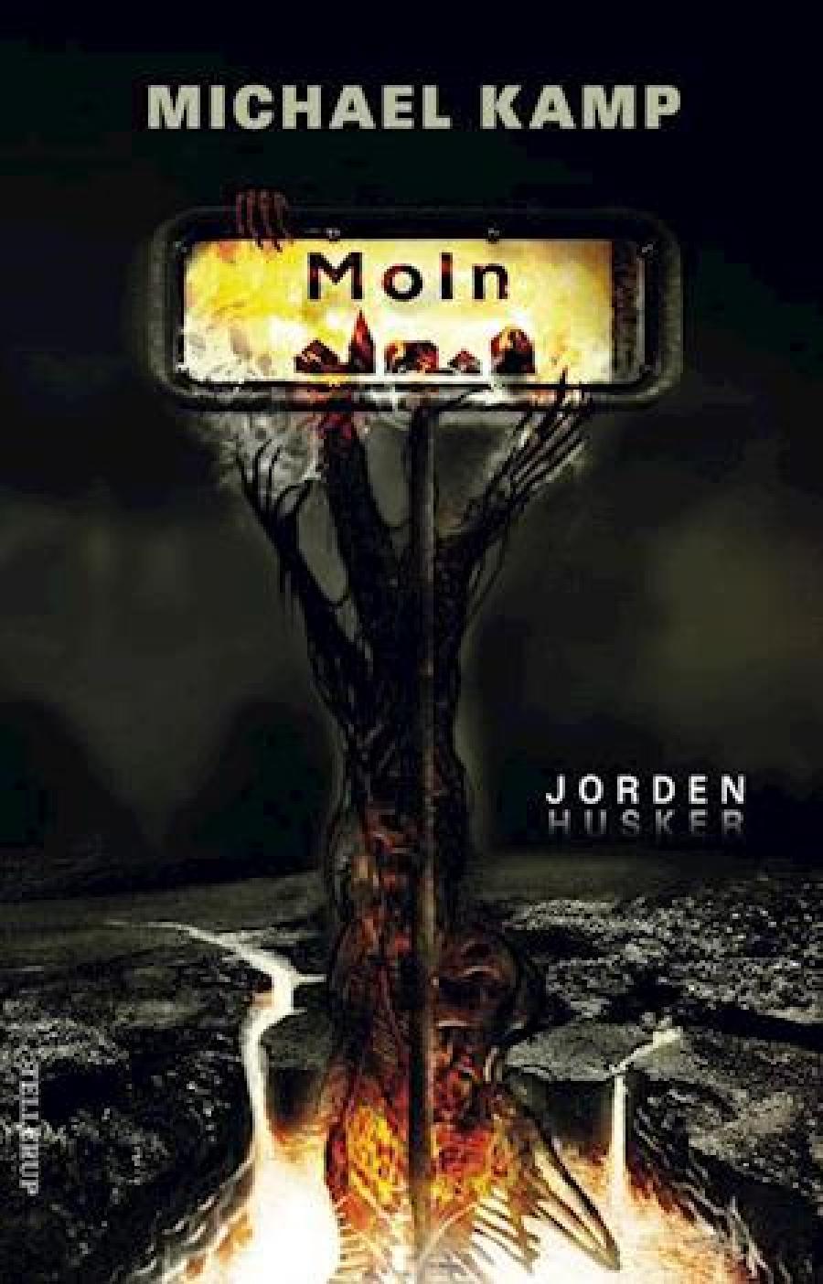 Foto af forsiden af bogen Moln - jorden husker af Michael Kamp